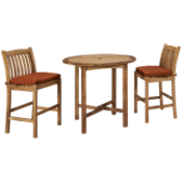 3 Piece Outdoor Dining Set