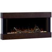 Wall Mount Fireplace with Remote
