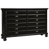Midnight Map Drawer Dresser