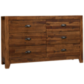 Braxton 6 Drawer Dresser