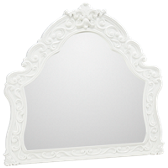 Exquisite Mirror with Scroll Detail