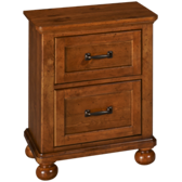 Bryce Canyon 2 Drawer Nightstand