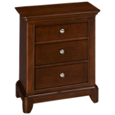 Impressions 3 Drawer Nightstand