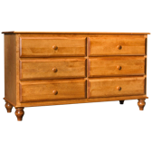 Surf City 6 Drawer Dresser