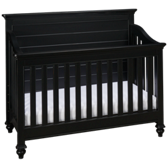 Black/White Convertible Crib