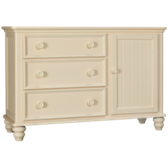 Summer Breeze 3 Drawer 1 Door Dresser