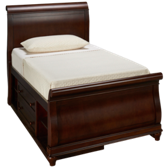 Classics 4.0 Twin Sleigh Bed with Storage