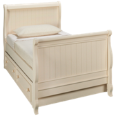 Summer Breeze Twin Sleigh Bed with Trundle
