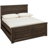Full Panel Bed with Underbed Storage