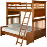 Bryce Canyon Twin over Full Bunk Beds