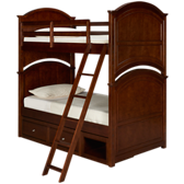 Impressions Twin Bunk Bed with Storage Drawer