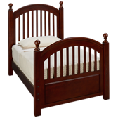 Twin Low Post Bed