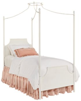 Magnolia Home Full Manor Iron Canopy Bed