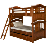 Twin Bunk Bed with Trundle