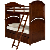 Impressions Twin Bunk Bed with Trundle