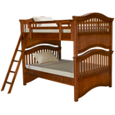 Classics 4.0 Full over Full Bunk Bed with Trundle