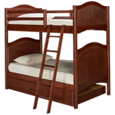 Surf City Twin over Twin Trundle Bunk Beds