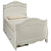Twin Sleigh Bed with Underbed Storage