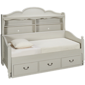 Inspirations Bookcase Daybed with Underbed Storage Drawer