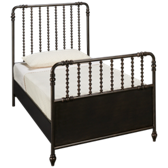 Midnight Twin Metal Bed