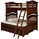 Classics 4.0 Twin Over Full Bunk Beds with Trundle