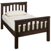 Highlands Twin Harper Slat Bed