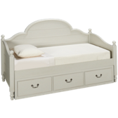 Panel Daybed with Underbed Storage Drawer
