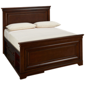 Classics 4.0 Full Panel Bed with Storage Unit