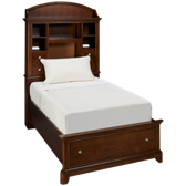 Twin Storage Bookcase Bed