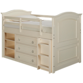 Twin Loft Bed with Underbed Storage