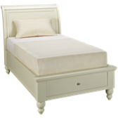 Twin Sleigh Storage Bed