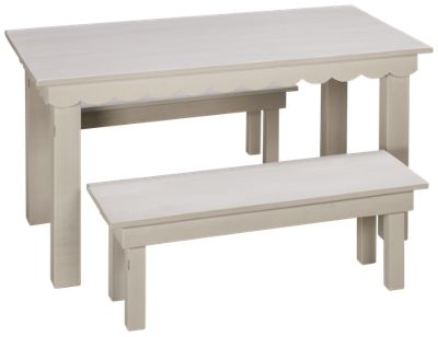 Magnolia Home Magnolia Home Magnolia Home Kidu0027s Haven Table With Two Benches    Jordanu0027s Furniture