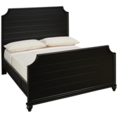 Midnight Full Panel Bed