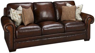 simon li hillsboro leather sofa - Simon Li Furniture