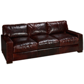 Brompton Leather Sofa