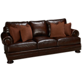 Foster Brindisi Leather Sofa