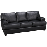 Leather Full Sleeper Sofa