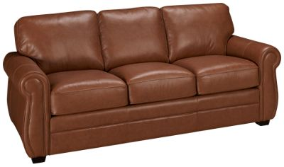 Palliser Thompson Palliser Thompson Leather Full Sleeper Sofa   Jordanu0027s  Furniture