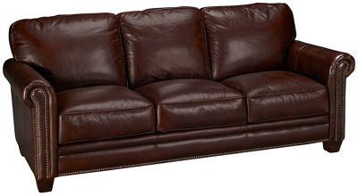 Futura Cordovan Futura Cordovan Leather Sofa Jordan S