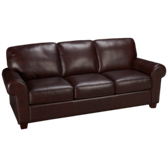 Sock Arm Leather Sofa