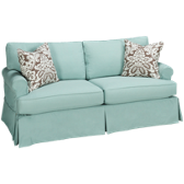 Townhouse Sofa with Slipcover
