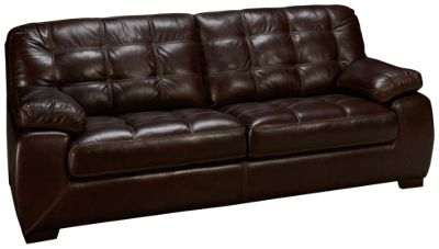 simon li walnut leather sofa - Simon Li Furniture