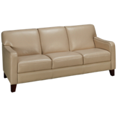 Betty Leather Sofa