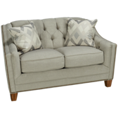 Loveseat with Nailhead