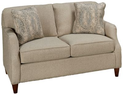 Craftmaster Ue Small Scale Craftmaster Ue Small Scale Loveseat With Nailhead Jordan 39 S Furniture