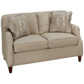 UE Small Scale Loveseat with Nailhead