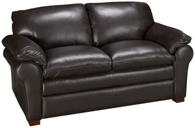 Futura Oslo Leather Loveseat  sc 1 st  Jordanu0027s Furniture : futura sectional - Sectionals, Sofas & Couches