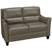 Bermuda Leather Loveseat