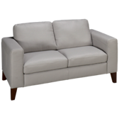Bauer Leather Loveseat