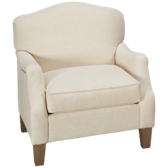 UE Tight Back Chair with Nailhead